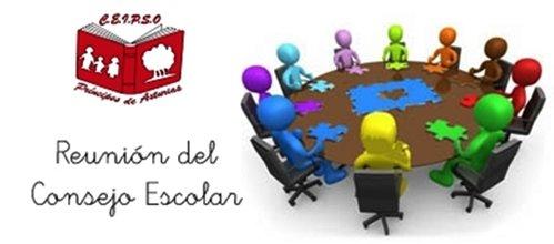 Última reunión del Consejo Escolar
